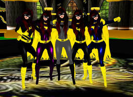 Team Batgirl by dragonzero1980
