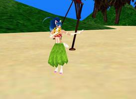 Felicia Hula Dancer by dragonzero1980