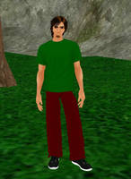 Shaggy Rogers by dragonzero1980