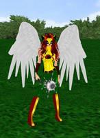 HawkGirl by dragonzero1980