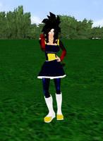 Super Saiyan 4 Gine by dragonzero1980
