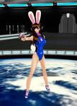 D.VA Bunny by dragonzero1980