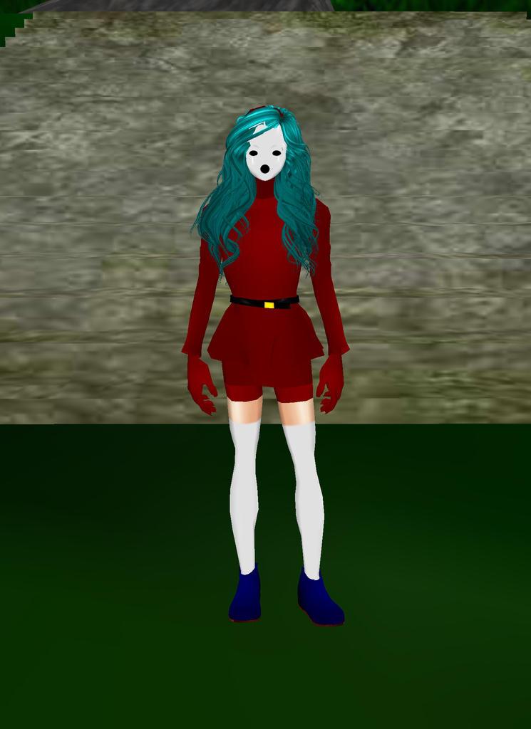 Shy Girl Red by dragonzero1980