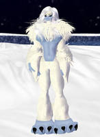 Abominable Ape Female by dragonzero1980
