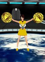 Tracer Cheerleader V1 by dragonzero1980