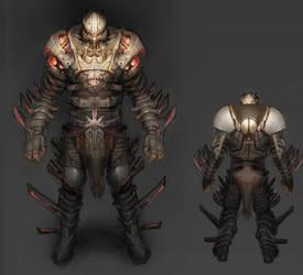 Chaos Armor by SoupAndButter