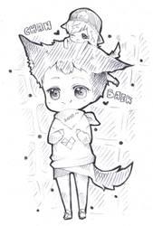 ChanBaek doodle by misunderstoodpotato