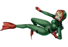 Commission: Dive Cammy by Razorkun