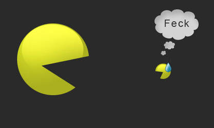 Pacman, meet Pacman by Natoscube