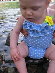 Phoebe at the American River by Vampress-Katora