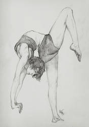 Contorsion sketch by Elleir