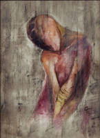 watercolor nightmare by Elleir