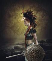 Wood Warrior by Atroksia-Photography