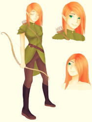 Elf By Rin Kot On Deviantart