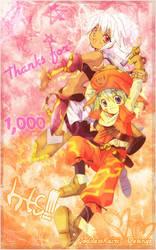 Thanks for 1,000 Hts by GoddessKairi