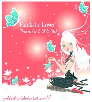 Thanks for 2k by GoddessKairi