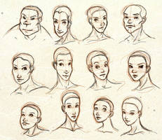 Face Shapes by ixisstar