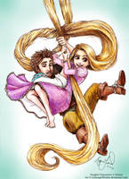 Tangled by LethargicWhales