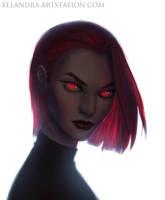 Glare Girl by Xelandra