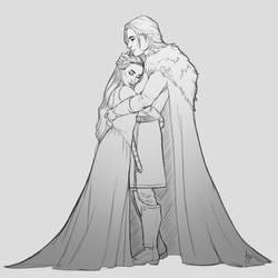 Love ~ Sketch by Xelandra