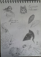 Random sketches #2 by ShioBRain