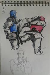 Taekwondo by ShioBRain