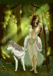 Forest Enchantress by Ederoi