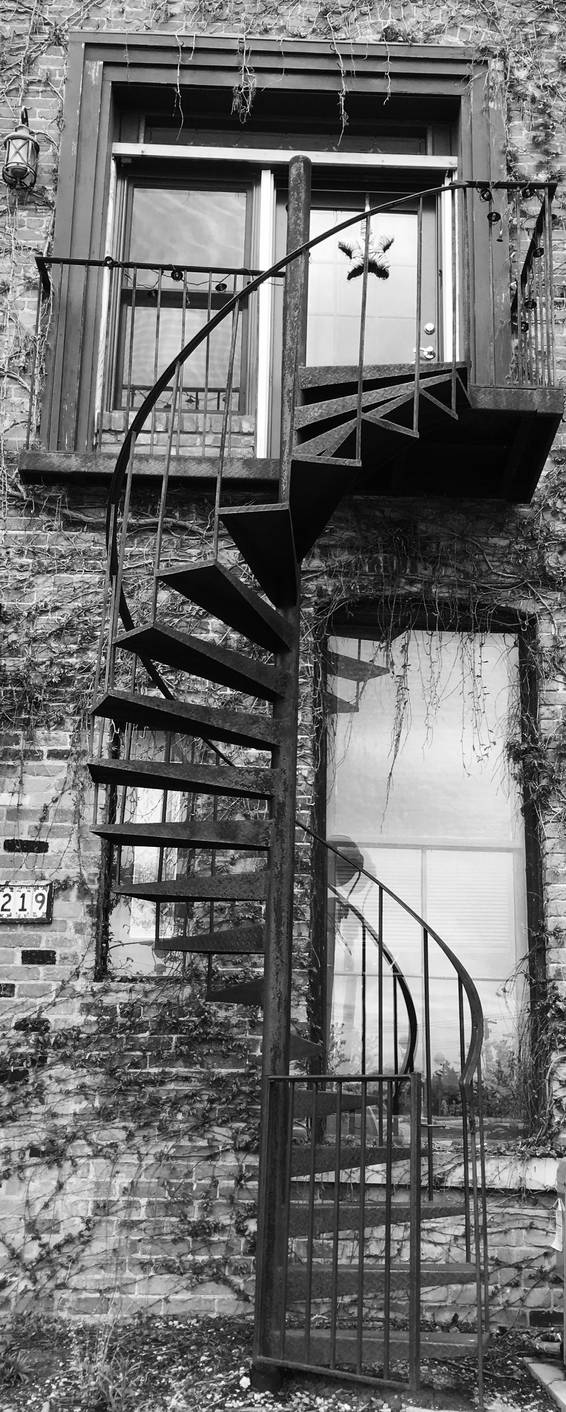 Spiral stairs by clover270