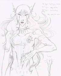 Sabbath Sketch by hydie-darling