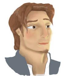 Flynn Rider by FlurryOfWhimsy