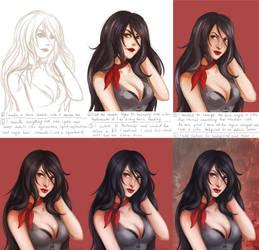 Linnia Knight process by Dilamon