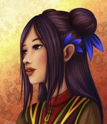 Lu Qiuyue by Dilamon
