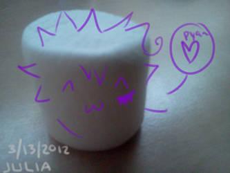 byakuran the marshmallow by DaKawaiiMastah