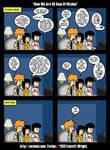 Playing Braid. Evvieco Comic 221 by Evviecofox