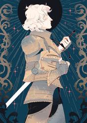 Knight #347438 by eli-baum