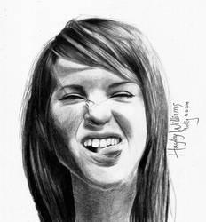 Drawing: Hayley Williams by crazyemm