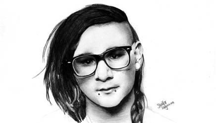 Drawing: Skrillex by crazyemm