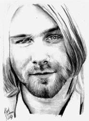 Drawing: Kurt Cobain by crazyemm