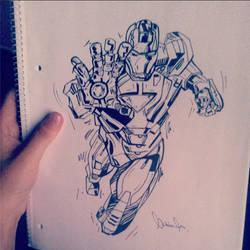 Iron Man by crazyemm