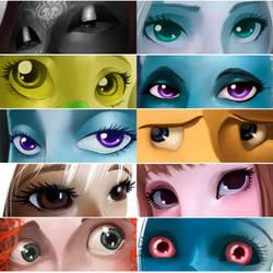 eyes meme by Aznara