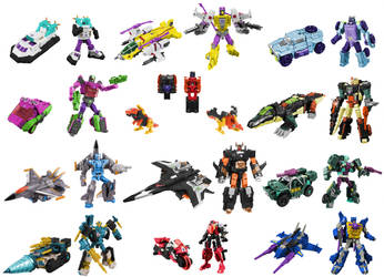 Cybertron Decepticons Digibash by Air-Hammer