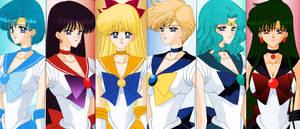 Sailor Senshi by Air-Hammer