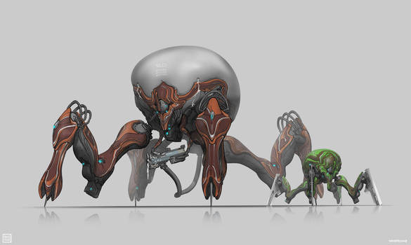 Warframe: Corpus Arachnoids Hunger and Micros by SBigham