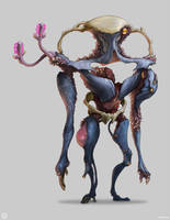 Warframe: Infested Phorid Boss by SBigham