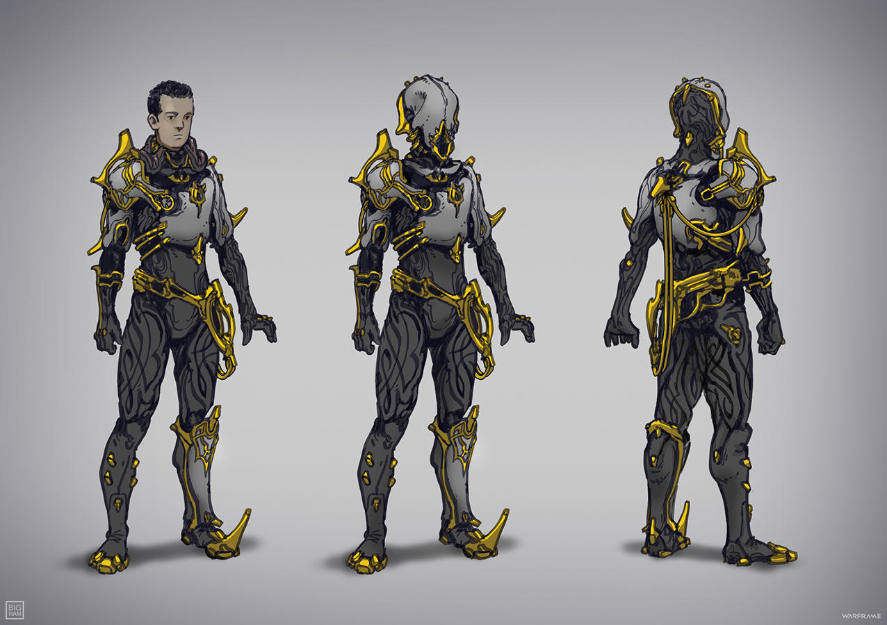 Warframe: Commodore Prime Suit by SBigham