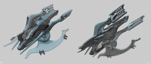 Warframe: Unreleased Liset by SBigham
