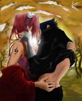 love Sasuke and Sakura by finabloom