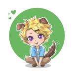 Puppy Yoosungie by BabyReni