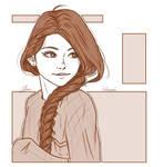 Monochrome Sketch 1 by BabyReni