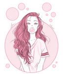 Monochrome Sketch 3 by BabyReni